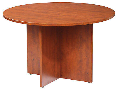 Gof Office Round Conference Table Cherry 47 - Local Pickup Only