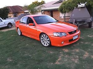 2004 ba xr8 manual sedan swap 4x4 Clarkson Wanneroo Area Preview