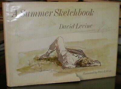 Jamie WYETH'S Personal Copia, Firmado, un Verano Sketchbook, David Rojos, Art