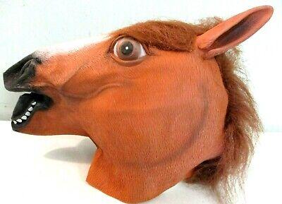 Miyaya Halloween Horse Head Mask Theater Costumes  =
