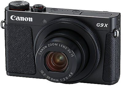 Canon 2017 Compact Digital Camera PSG9X Mark II Black DIGIC7 1.0 type Sensor New
