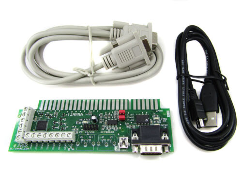 Ultimarc J-PAC - PC to JAMMA Board USB Interface with USB & VGA Cables