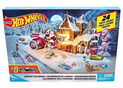 Advent Calendar For Kids (Hot Wheels Advent Calendar 2018, Christmas Countdown Calendar for)