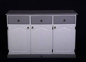 Lovely painted vintage buffet,grey and white,DEL AVAILABLE Oakford Serpentine Area Preview