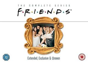FRIENDS COMPLETE SERIES 1 - 10 DVD BOX SET Season 1 2 3 4 5 6 7 8 9 10 TV COMEDY