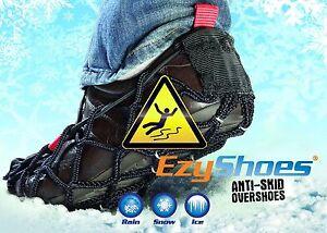 EzyShoes Antirutsch Krallen Gr.37-42 Schuhspikes Spikes Gleitschutz Schneeschuhe