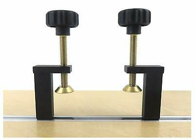 Taytools 73486 Pair 2 Each T Track Clamp Hold Down