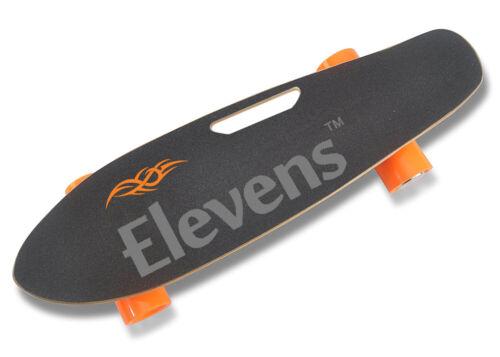 Elevens Electric Longboard 10 MPH 10 Miles, 120W Motorized Electric Skateboard