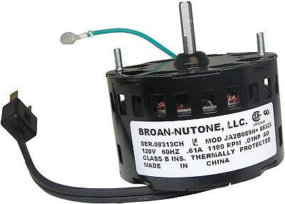 Nutone 86323000 Bathroom Fan Motor