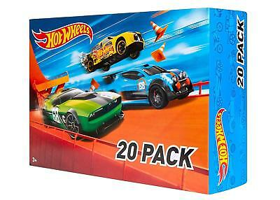 Hot Wheels Car Toys For Kids 20-Car Gift Pack Toy Box Models (Styles May Vary)