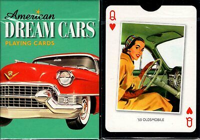 American Dream Cars Playing Cards Poker Size Deck Piatnik Custom Limited Edition