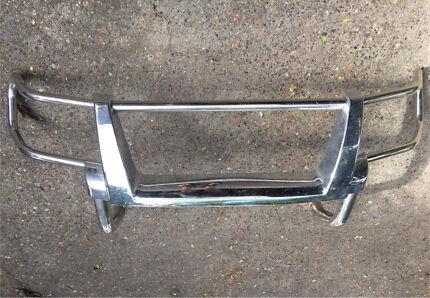Nissan GU Patrol Nudge Bar Bullbar Chrome