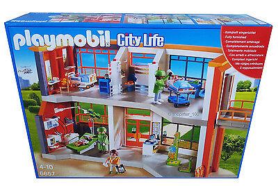 Playmobil® 6657 - Kinderklinik mit Einrichtung - NEU + OVP - Krankenhaus Klinik
