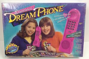 Dream-Phone-Game-Milton-Bradley-Vintage-Electronic-DreamPhone-New-SEALED-XMAS