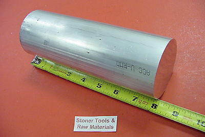 5 Aluminum 6061 Round Rod 8 Long T6511 Solid Extruded Lathe Bar Stock