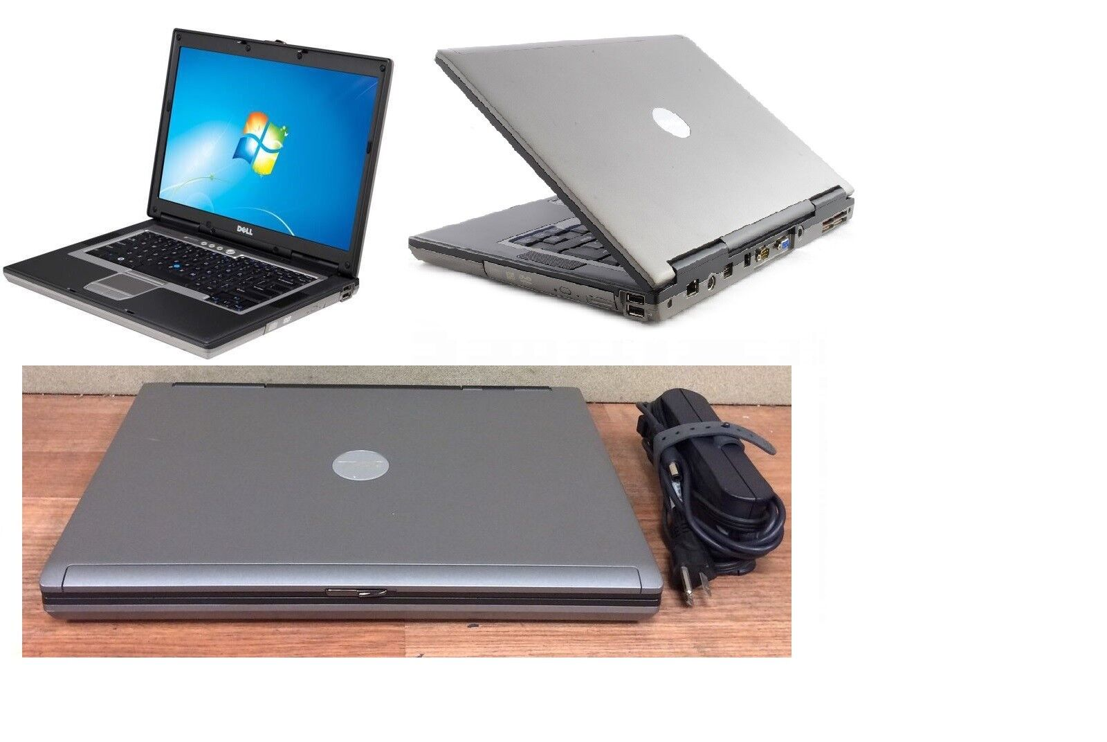"Dell Latitude LAPTOP/NOTEBOOK 15.4"" Screen+300GB Windows 7 PRO WIFI+Word program"