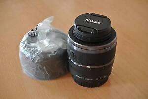 Nikon 1 Nikkor 30-110mm f/3.8-5.6 VR CX Lens Black +hood Eight Mile Plains Brisbane South West Preview