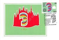 Cartolina Maximum - 3° Esposizione Mondiale Macchine Utensili - 1979 - mondi - ebay.it