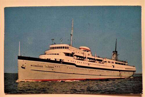 ss Milwaukee Clipper. Wisconsin-Michigan Line. Passenger / Auto Ferry. Vessels.