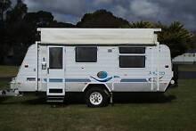 2004 Jayco Freedom Outback Caravan Orange Orange Area Preview