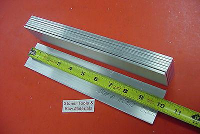 8 Pieces 14 X 1-12 Aluminum 6061 Flat Bar 10 Long T6 Solid New Mill Stock