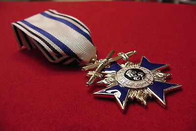 GERMAN WWI MEDAL BAVARIA MILITARY MERIT ORDER CROSS 3RD CLASS WITH SWORDS