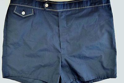LN Vintage 70's 80's Jantzen Short Swimming Trunks Swimwear Shorts Size 38