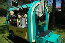 Coffee Cart with 2 group Machine and Grinder Petersham Marrickville Area Preview