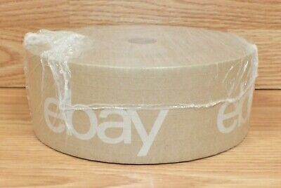 Ebay Branded Gummed Brown Water Packing Tape - One 500' Roll