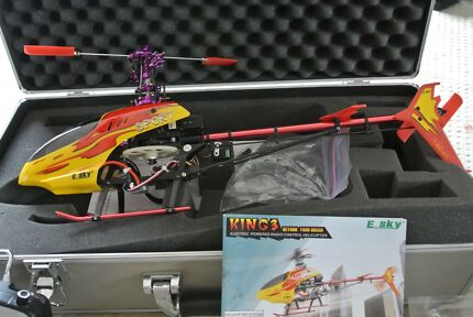 Esky 2.4GHz 6 CH Red Honey Bee King 3 CCPM 3D Aerobatic Electric