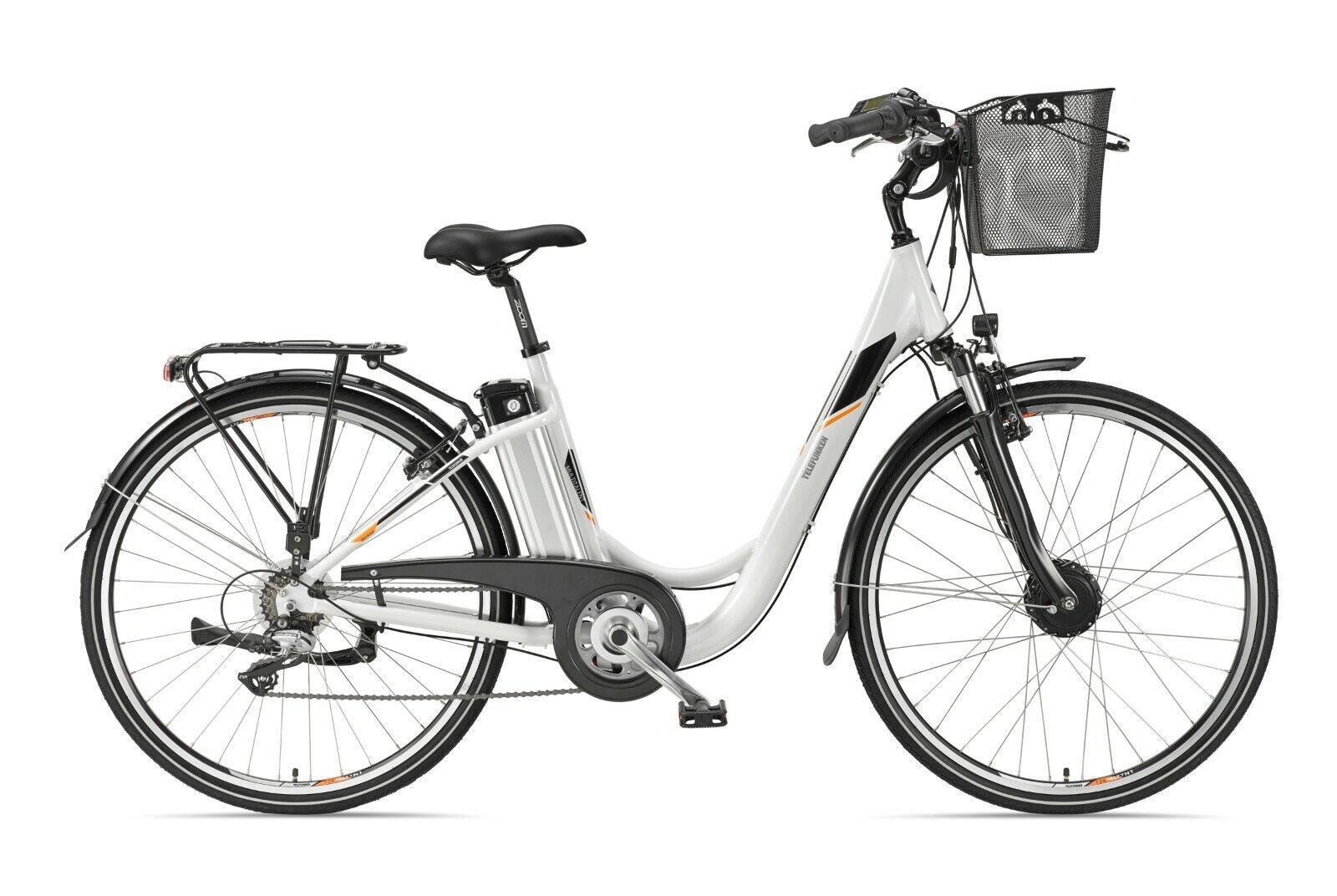 Telefunken E-Bike 28 Zoll Elektrofahrrad Citybike 7-Gang Kette RC820 Multitalent