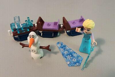 Lego Disney Figur - Elsa *Eiskönigin* und Olaf mit Schlitten aus Set 43172*