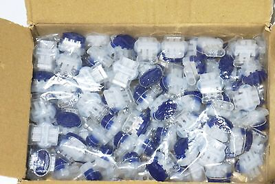 50pc 3 Wire Connector Grease Filled Moisture Resistant Pigtail Splice 14-22 Awg