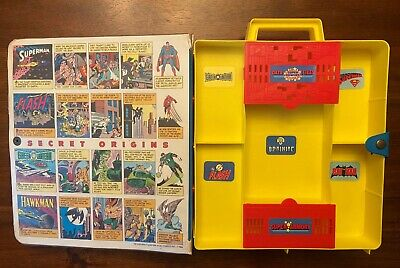 Vintage 1984 Kenner DC Super Powers Collection Carrying Case-Complete