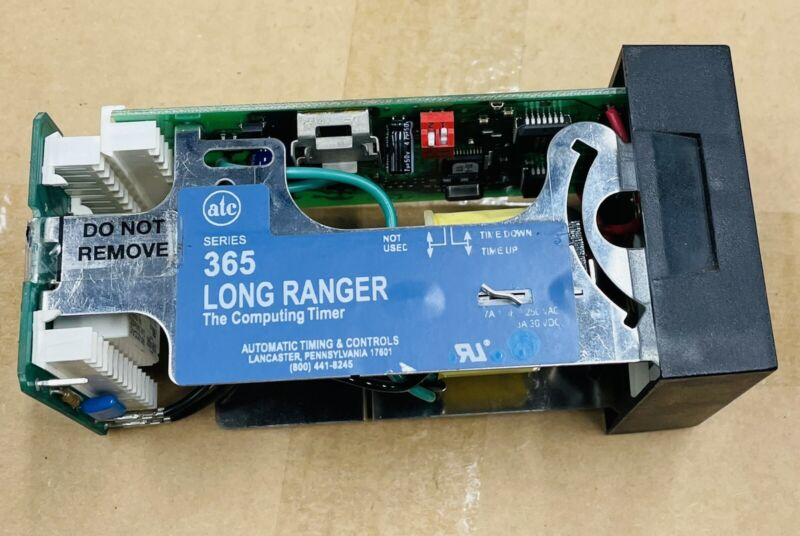 ATC 365 LONG RANGER TIMER SECONDS For PARTS Or REPAIR Parts only Not Working