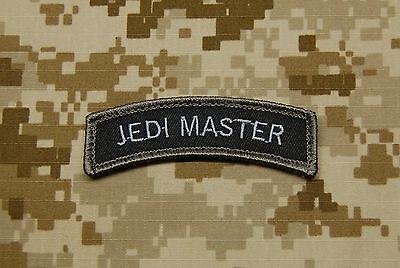 JEDI MASTER Tab Tactical NSWDG SWAT NAVY SEAL Morale Patch DEVGRU Hook & Loop