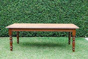 Australian Hardwood Dining Table - Beautifully Refurbished Northbridge Willoughby Area Preview