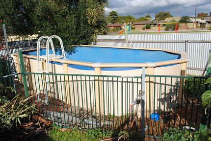 Clark Oval Above Ground swimming pool