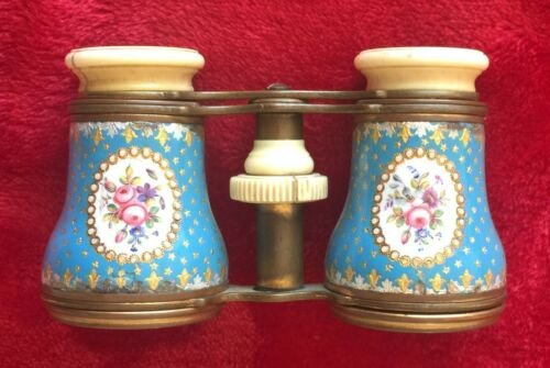 JUMELLE DUCHESSE ANTIQUE OPERA GLASSES - 1890s