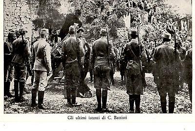 WW1 IMPICCAGIONE DI CESARE BATTISTI
