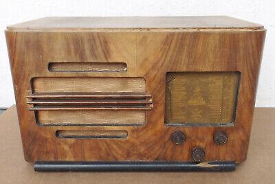Antiguo Familial Radio Modelo 602 , G. Dubois ; de Tubos Rundfunk Carcasa Madera segunda mano  Embacar hacia Mexico