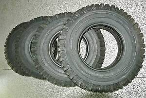 5 Michelin Off Road Tyres 4X4-O/R 7.50R16C XZL Mud Terrain Paddington Brisbane North West Preview