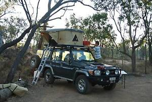 Roof Top Tent Hard Shell MadCamp Gas Strut Tannum Sands Gladstone City Preview