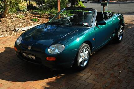 MG F 1999 and MG number plates Point Lonsdale Outer Geelong Preview