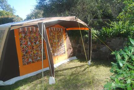 Vintage Andre Jamet Large Family Tent & Large family tent | Camping u0026 Hiking | Gumtree Australia Maitland ...