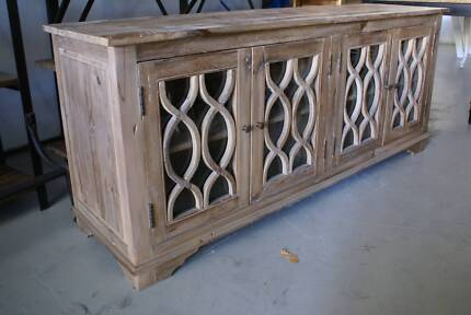 NEW INDUSTRIAL RUSTIC BUFFET SIDEBOARD CUPBOARD HALL TABLE Chipping Norton Liverpool Area Preview