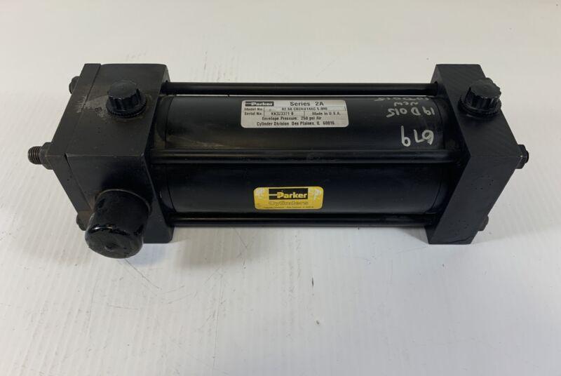 Parker Pneumatic Cyclinder 02.50 CD2AU14AC 5.000 250 PSI