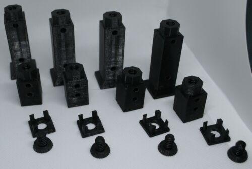 4x Egg Crate Frag Rack Legs 3D Printed in PETG Set 4 of each
