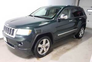 2011 Jeep Grand Cherokee Overland|Htd/Cld Lthr|Rmt Start|Pwr Tai