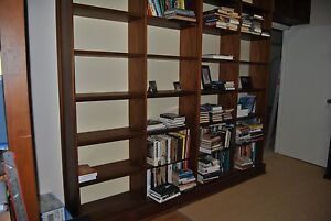 Book shelves, custom made, for removal from house Manly West Brisbane South East Preview